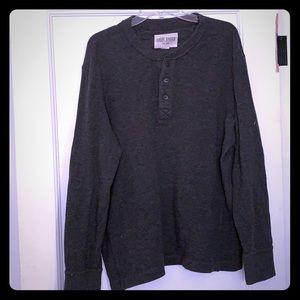 Gray sweater shirt
